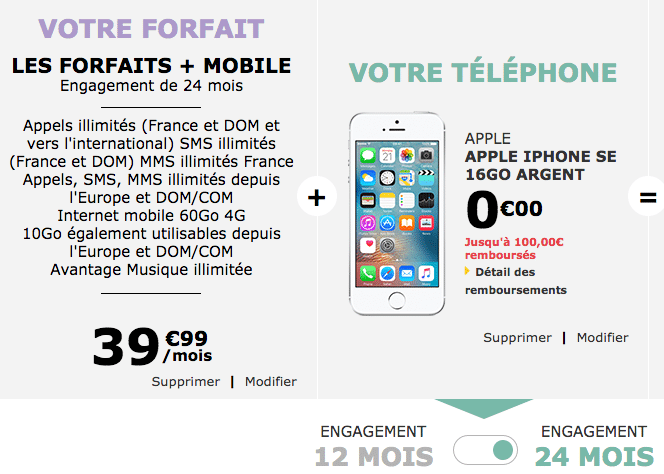 la poste iphone gratuit