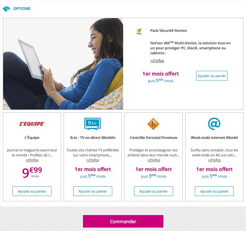 options bouygues telecom
