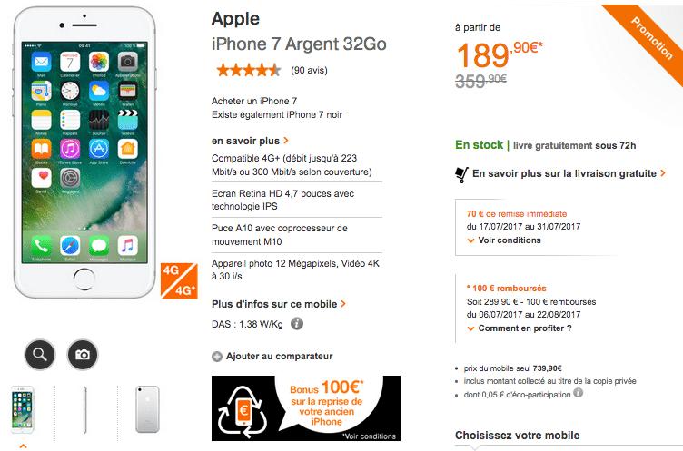orange apple iphone