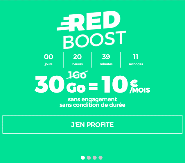 forfait RED Boost 30