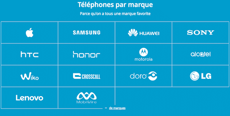 smartphone CP70 bouygues