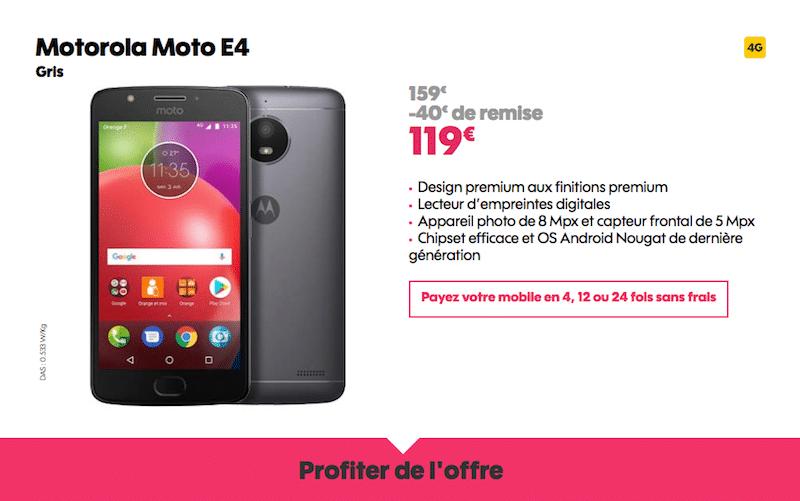 vente flash Motorola