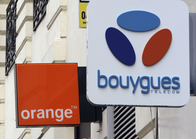 4G orange bouygues telecom