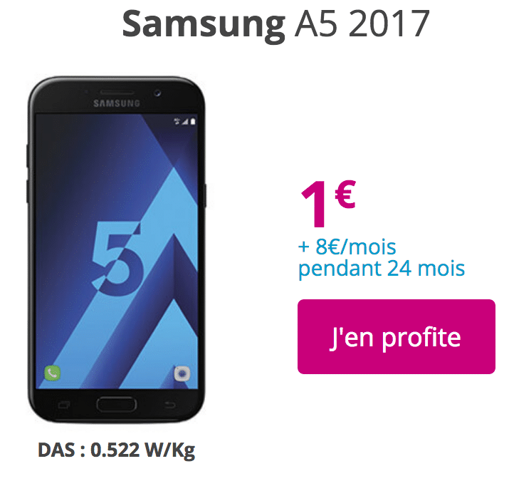 Bouygues Galaxy A5