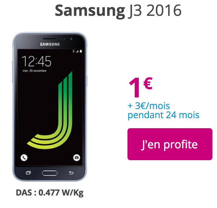 Bouygues galaxy J3