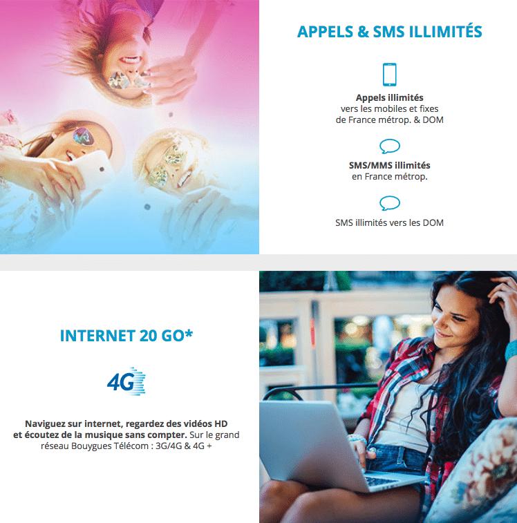 Bouygues telecom forfait sensation 20 Go