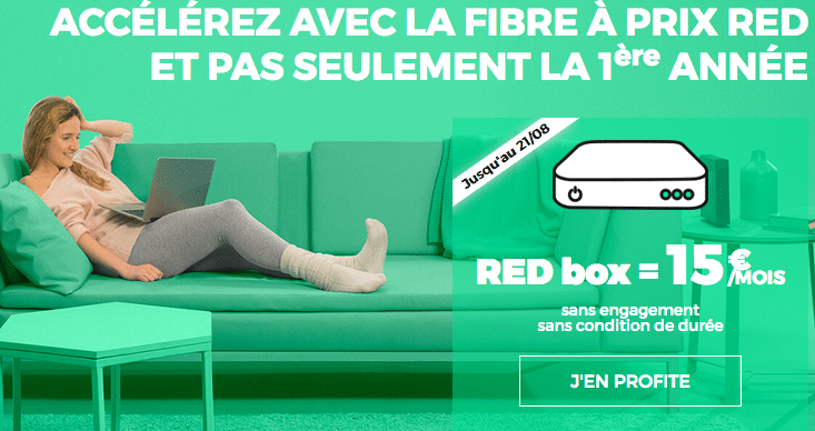 RED la box pas chere