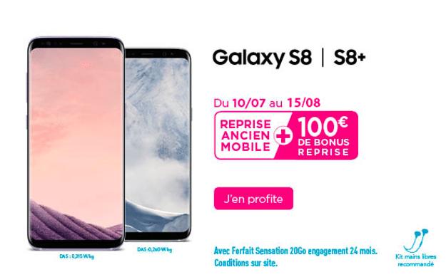 bonus reprise Samsung