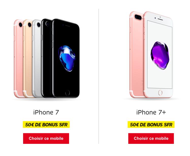 iPhone 7 SFR