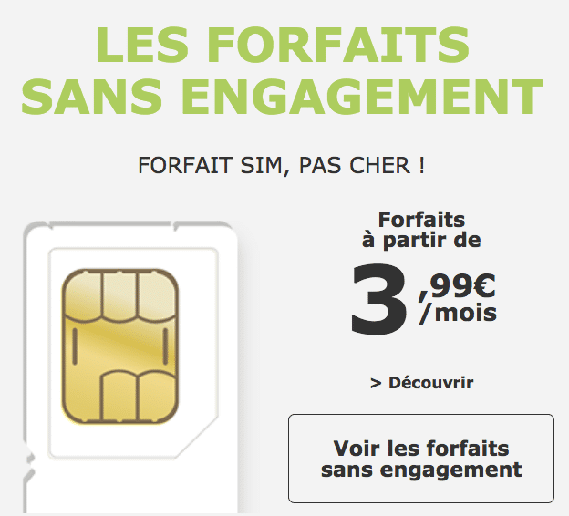 la poste mobile forfaits sim