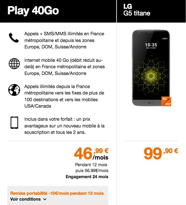 orange G5 Play