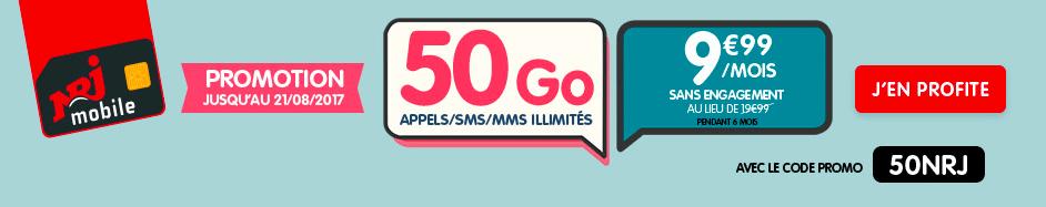 NRJ Mobile 50 Go