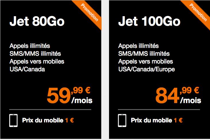 orange forfaits jet
