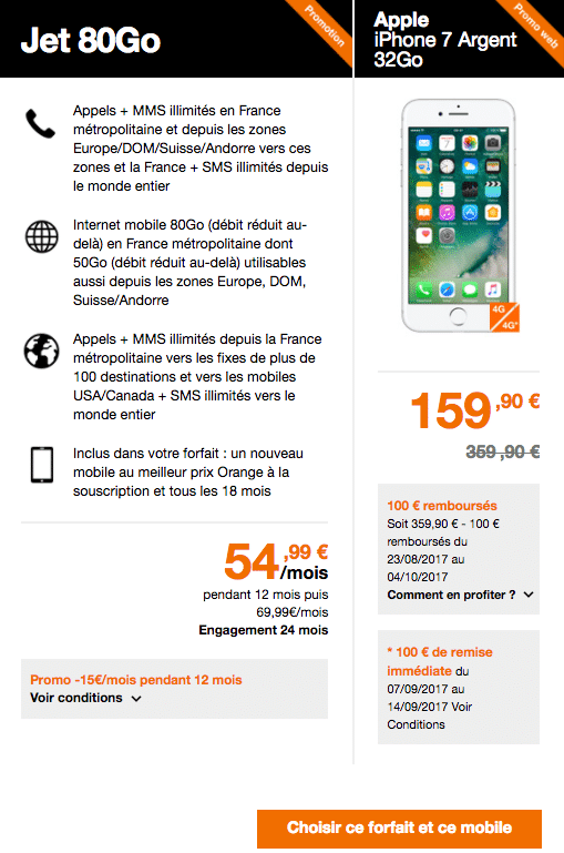 Apple iPhone Orange