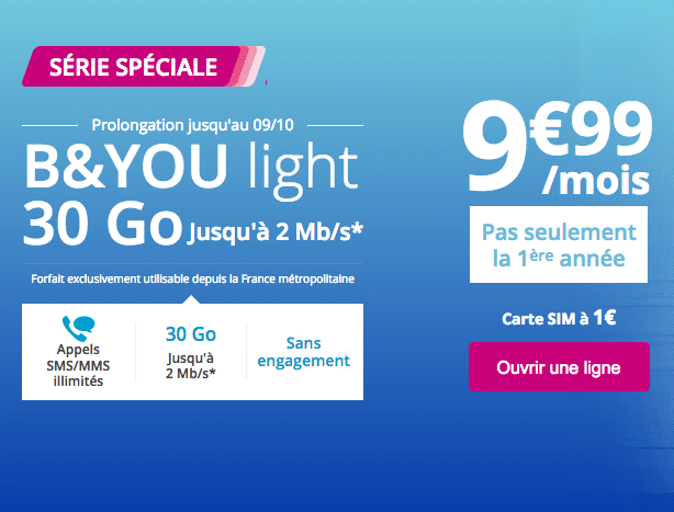 Bouygues Telecom byou light
