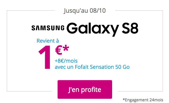 Bouygues Telecom galaxy S8