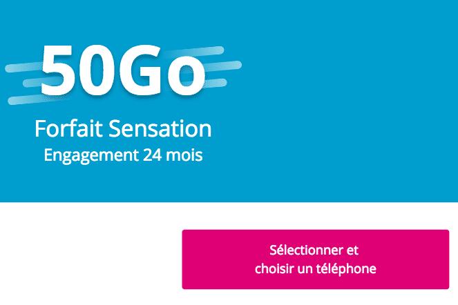 Sensation 50 Go