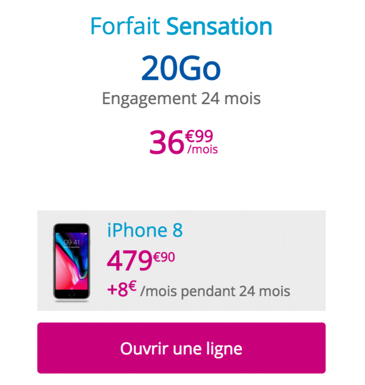 iPhone bouygues
