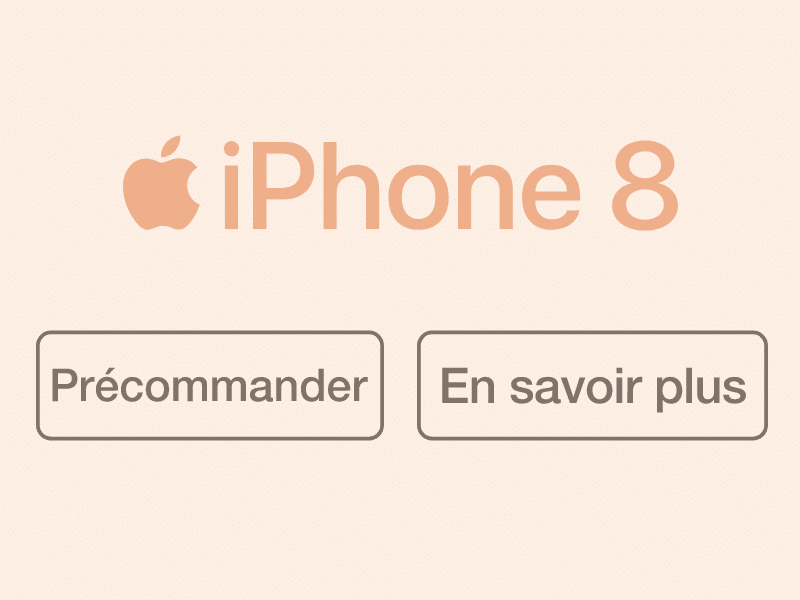 iPhone 8 bouygues