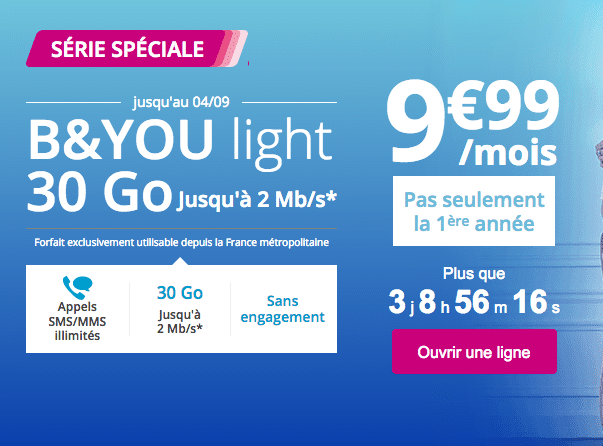 Bouygues telecom serie speciale