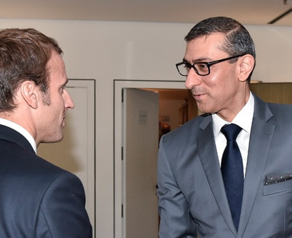 Le Directeur Nokia avait rencontré Emmanuel Macron au sujet du rachat d'Alcatel en 2015