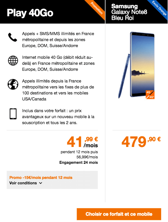 Note 8 play 40