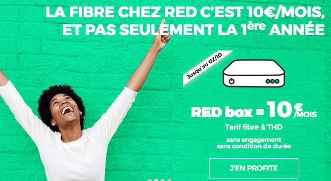 RED sfr box internet