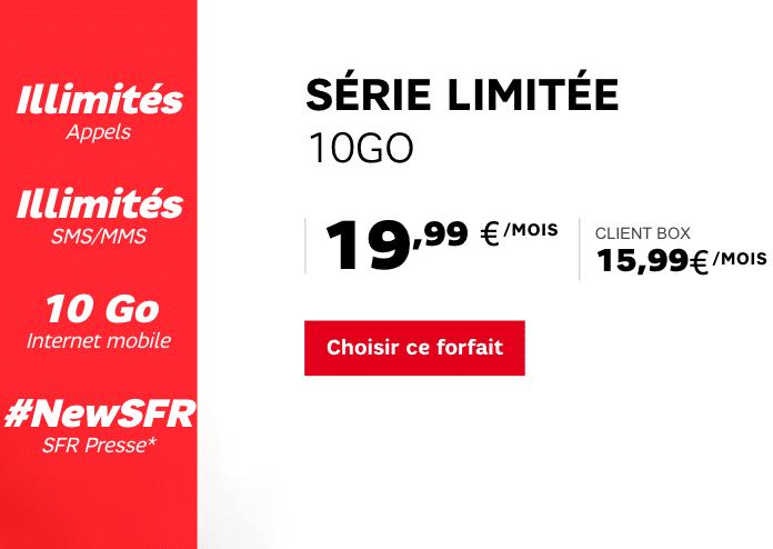 SFR série limitée