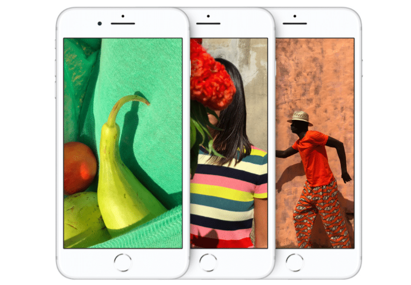Les iPhone 8 et 8 Plus permettent de prendre des photos aux couleurs éclatantes