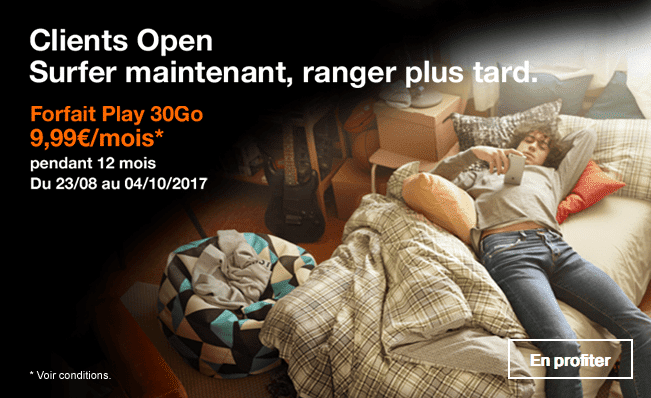 forfait mobile open orange