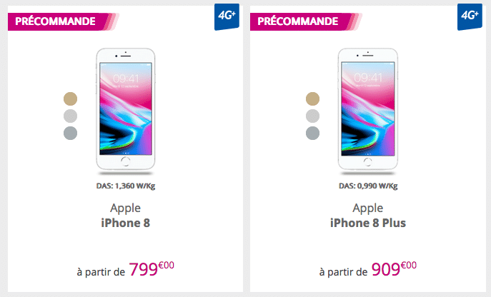 iPhone 8 byou bouygues