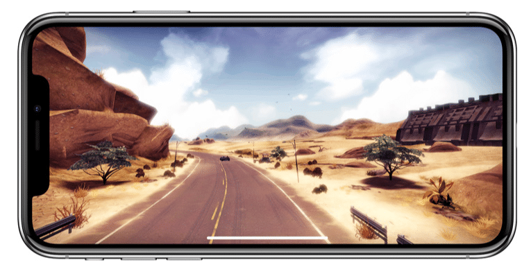 l'expérience de jeu de l'iPhone X est supportée par une puce A11 Bionic