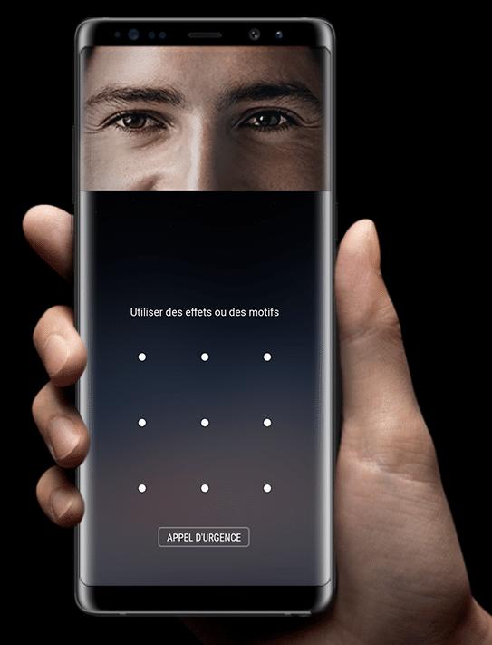 L'outil de reconnaissance faciale du Galaxy Note8 n'est pas sécurisé