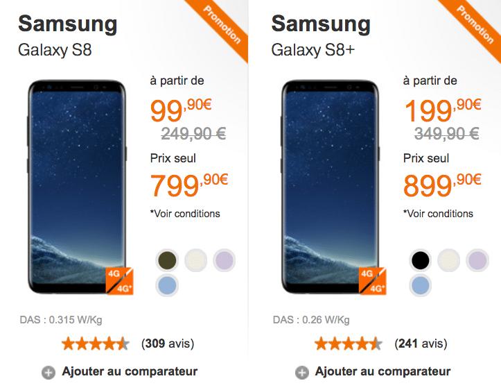 orange reprise Samsung