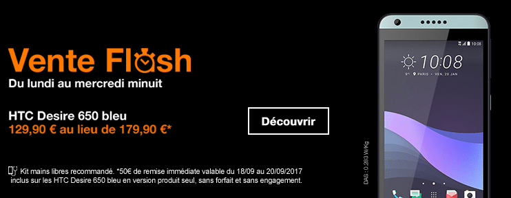 orange vente flash