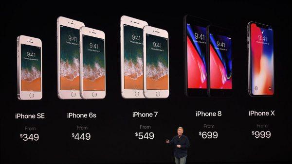 Les smartphones sont de plus en plus cher, la preuve avec Apple.