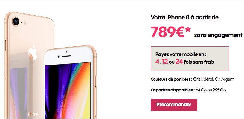 Sosh Apple iPhone