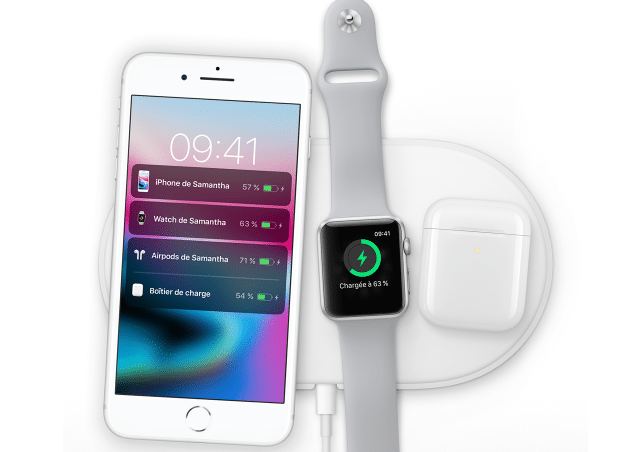 La station AirPower sera disponible en 2018