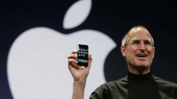 Le premier iPhone d'Apple a été présenté en 2007