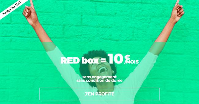 10 Go red sfr