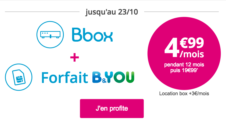 offre Bbox B&You
