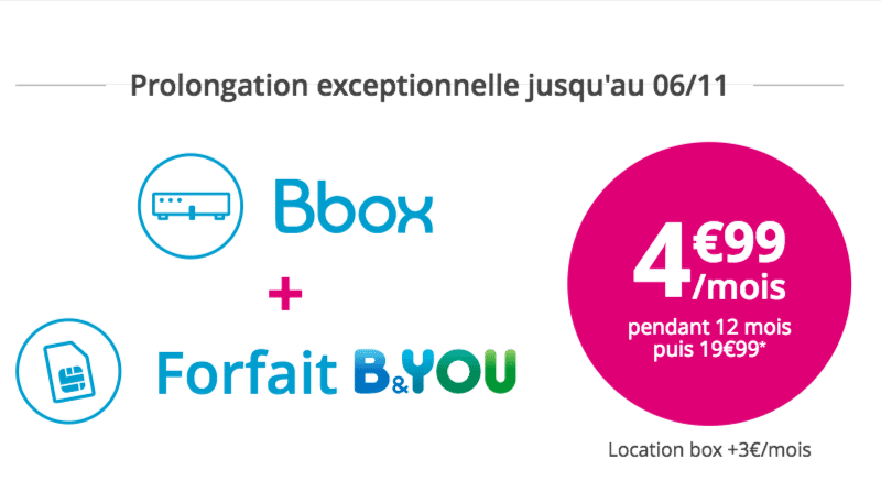 bouygues t l com les forfaits b you en promotion avec les bbox. Black Bedroom Furniture Sets. Home Design Ideas