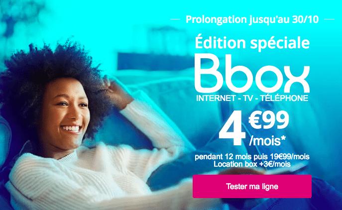 Souscrire à la Bbox de Bouygues Télécom