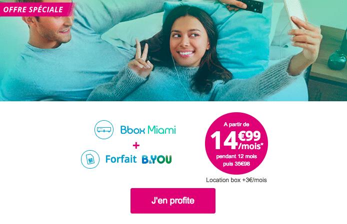 Choisir une offre box et mobile de Bouygues Télécom