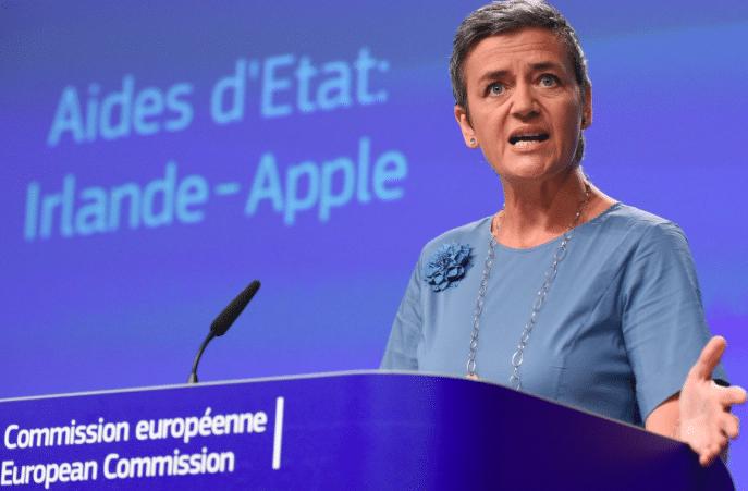 Margrethe Vestager est la commissaire européenne en charge de la concurrence