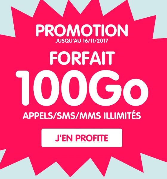 NRJ Mobile 100 Go donnees
