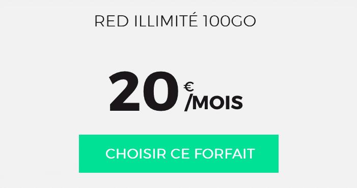 RED SFR 100 Go forfait
