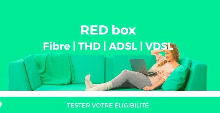 souscrire à la box internet de RED by SFR