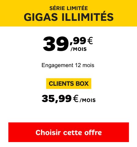 4G illimité SFR