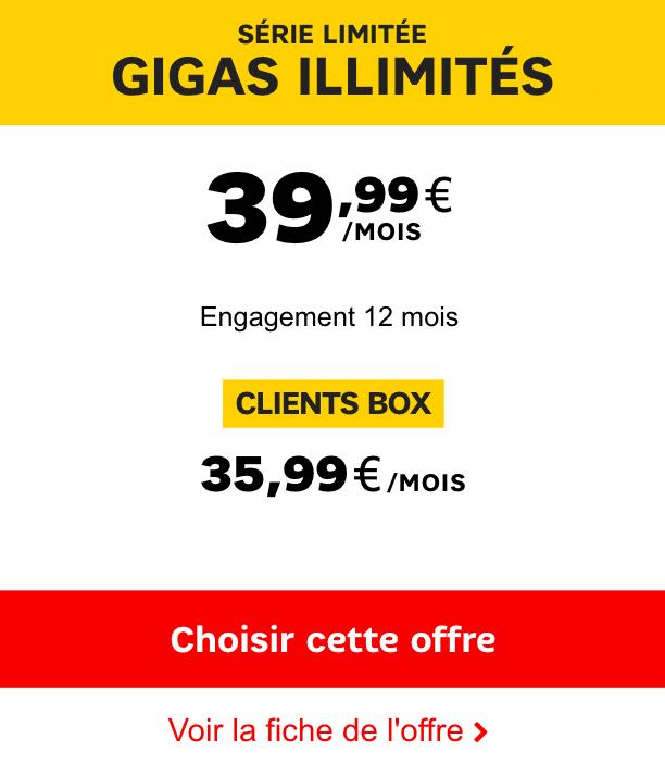 4G illimitée